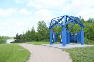 The Great Trail node at Gabriel Dumont Park