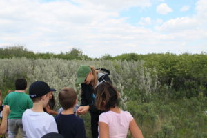 Beaver Creek student tour Meewasin