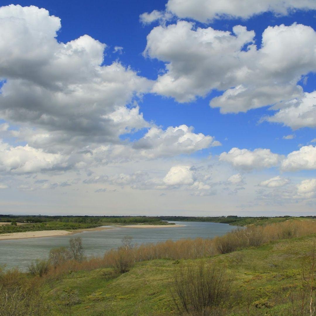 Blue Skies over Meewasin Beaver Creek